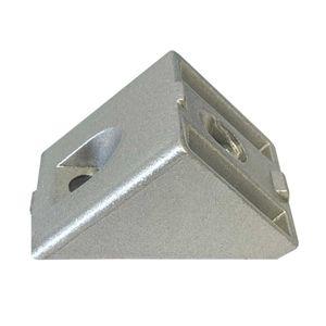 PremiumX Winkelverbinder 45 Grad Nut 8 4040 Aluminium Winkel Verbinder