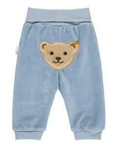 STEIFF® Baby Jungen Nicky Jogginghose GOTS, Größe:74, Präzise Farbe:Blau