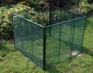 BRISTA Komposter Streckmetall grün / verzinkt ca. 100 x 100 x 80 cm