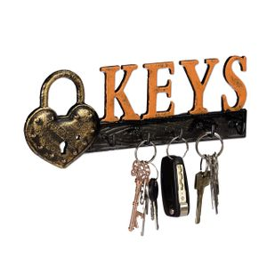 relaxdays Schlüsselbrett Keys