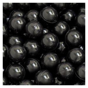 50 Bälle für Bällebad 5,5cm Babybälle Plastikbälle Baby Spielbälle Schwarz