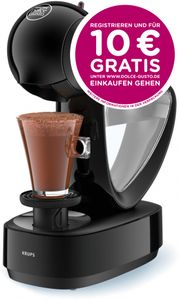 Krups Espressomaschine NESCAFÉ® DOLCE GUSTO® Infinissima KP1708, schwarz