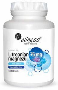 ALINESS Magnesium L-Threonate (Gehirnunterstützung) 60 Tabletten