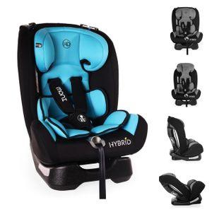 Moni Kindersitz Hybrid 0-36 kg Gruppe 0+/1/2/3 Reboarder Rückenlehne verstellbar blau