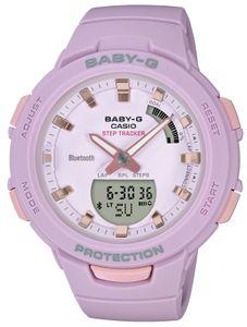 Casio Baby-G Uhr BSA-B100-4A2ER lila Step Tracker Bluetooth® Smart