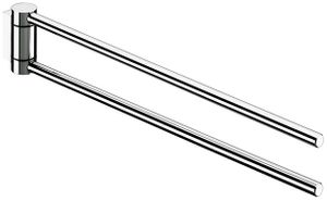Keuco Handtuchhalter PLAN 2-teilig, schwenkbar 300 mm Ausladung verchromt