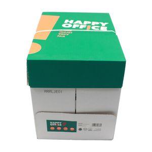 2500 Blatt Happy Office Kopier Papier Weiß DIN A4 Laser Inkjet Copy Fax 80g