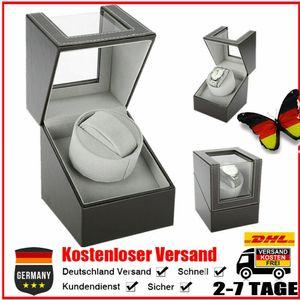 Automatischer Beweger Uhrenbeweger Uhrenbox Uhrenvitrine Uhren Koffer Kasten PU