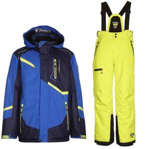 Skianzug Kinder Jungen und Mädchen gute Passform, Wasserdicht und Winddicht Killtec , Farbe:Blau, Kinder Größen:152