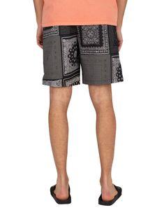 Levi's Herren Utility-Shorts, Schwarz S