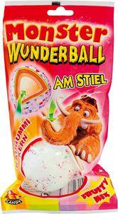 Monster Candy Wunderball Frutti Mix Lutscher mit Kaugummi Kern 80g