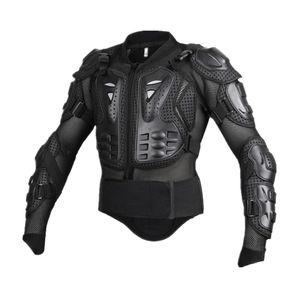 mtb bmx bike motocross schutzausrüstung ganzkörperschutz jackenpanzerung xxl Schwarz