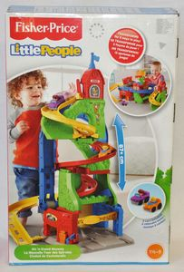 Fisher-Price Little People Hochhausrennbahn