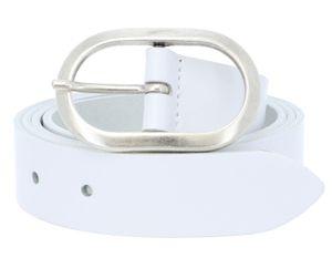 Vanzetti Classics 30mm Leather Belt W90 White