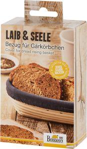 BIRKMANN Bezug für Gärkörbchen Brotbeutel Baumwolle Länglich Neu 38 cm