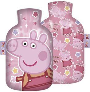familie24 Peppa Pig Wärmeflasche Kinderwärmflasche Wärmekissen Heizkissen Wärmflasche