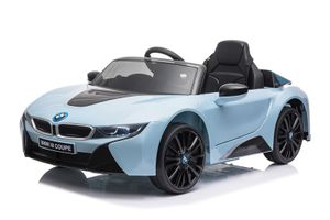 BMW Lizenz Kinder Elektro Auto BMW i8 2x35W Blau
