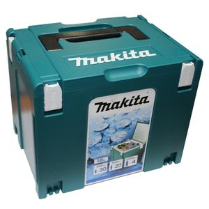 Makita Makpac 4 System Koffer Cool Case Kühlbox 18 Liter Volumen mit Isolierauskleidung ( 198253-4 )