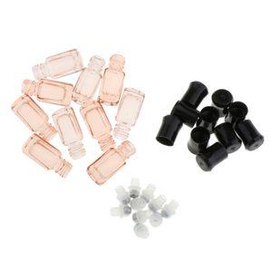 10x Ätherisches Öl Flasche mit Rollenkugel, 3ml Roll-on Leere Glasflasche Nachfüllbare Rollerflaschen Rosa 5x1,4 cm Flaschen rollen Leere Röhren