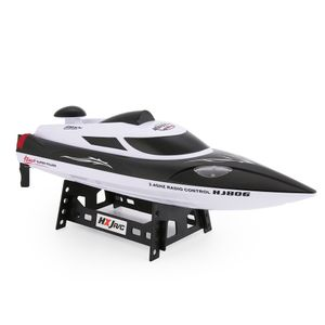 HONGXUNJIE HJ806 47cm 2.4G RC 30km/h High Speed ??Racing Flipped Boat