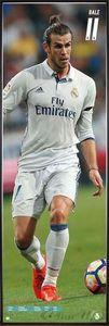 Gareth Bale Langbahnposter Real Madrid(158x53cm) gerahmt