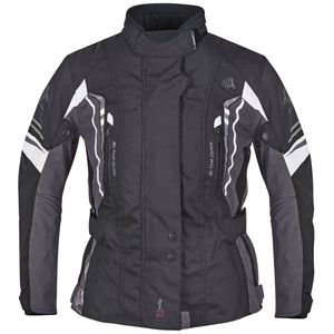 Germot Motorradjacke Damen Xantia Pro :  schwarz-grau  40D