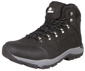 GUGGEN MOUNTAIN Herren Wanderschuhe Bergschuhe wasserdicht Outdoor-Schuhe Walkingschuhe M012, Farbe Schwarz, EU 42