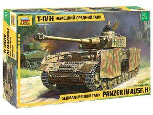 Zvezda 1:35 Panzer IV Ausf.H (SD.Kfz 161/2)