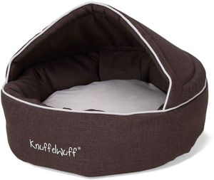 Knuffelwuff Hundehöhle Pumbaa aus Velours Ø 70cm