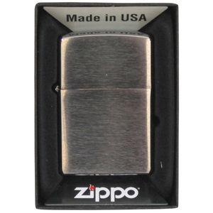 Zippo Feuerzeug chrom gebürstet