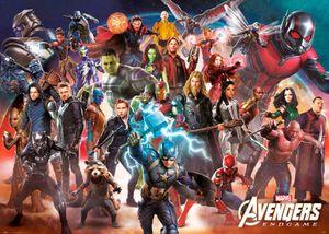 Marvel Avengers - Endgame - Giant XXL Poster - Größe 140x100