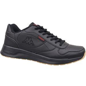 Kappa Turnschuhe Damen Sneaker Schuhe Schwarz, Größe:43