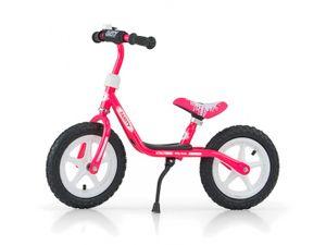 Milly Mally Laufräder 2 Räder loopfiets Dusty 12 Zoll Junior Rosa/Weiß