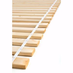 acerto® - Lattenrost 100 cm x 200 cm aus Kieferholz massiv