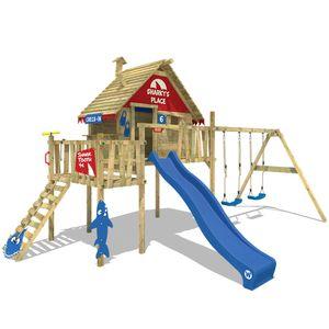 Spielturm WICKEY Smart Resort Garten Kinder Kletterturm Stelzenhaus