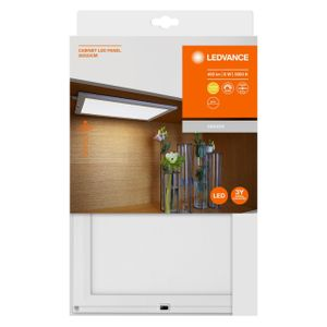 LEDVANCE CABINET PANEL SENSOR 8 W LED Unterbauleuchte Warmweiß 30 cm Kunststoff Weiß