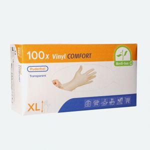 Medi-Inn® PS Handschuhe | Vinyl puderfrei Comfort | Größe: XL