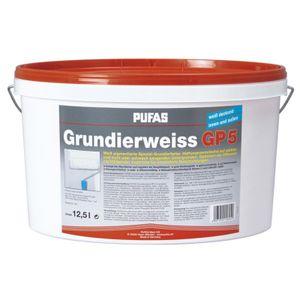 Grundierweiss Grundierfarbe GP 5 - PUFAS - 12,5 Liter - lösungsmittelfrei