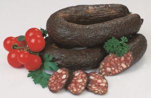 Food-United Geräucherte Blutwurst am Ring 350g