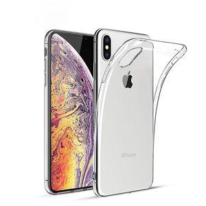 iPhone X XS Schutz Hülle TPU Silikon Cover Slim-Case Tasche Durchsichtig Transparent