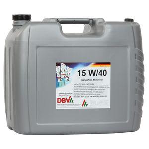 15W/40 DBV-Ganzjahres-Motorenöl 20-Liter-Kanister