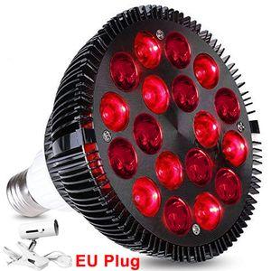 54W LED Lampe PAR 38 Rotlichtlampe Infrarot-Lampe Infrarotstrahler Rotlicht-Tpielampe zur Schmerzlinderung mit Lampenfassung