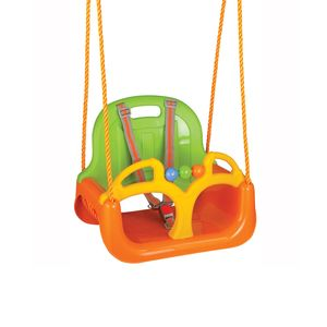 Siva  Samba Swing 3 in 1 Schaukel grün/orange; 06199G