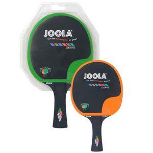 JOOLA Tischtennisschläger Colorato grün-orange