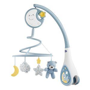 Chicco Baby Mobile Next2Dreams Spieluhr Musikuhr Einschlafhilfe Babybett blau