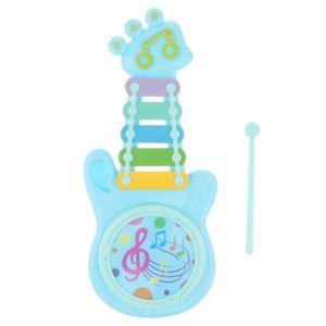Kleine Gitarre Xylophon Klopfen Klavier Musikinstrument Kinder Pädagogisches Spielzeug