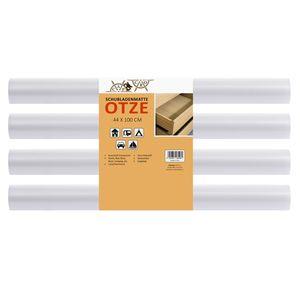 Schubladenmatte Otze 4 teiliges Set | 100 x 44 cm | transparente Antirutschmatte - zuschneidbar