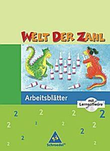 Welt der Zahl - Ausgabe 2005 Nord: Arbeitsheft 2 mit CD-ROM