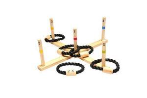BS Toys ring Wurfholz 50 cm blank