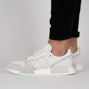 adidas Originals Risingstar x R1 'Never Made Pack' Herren Sneaker Weiß Schuhe, Größe:43 1/3